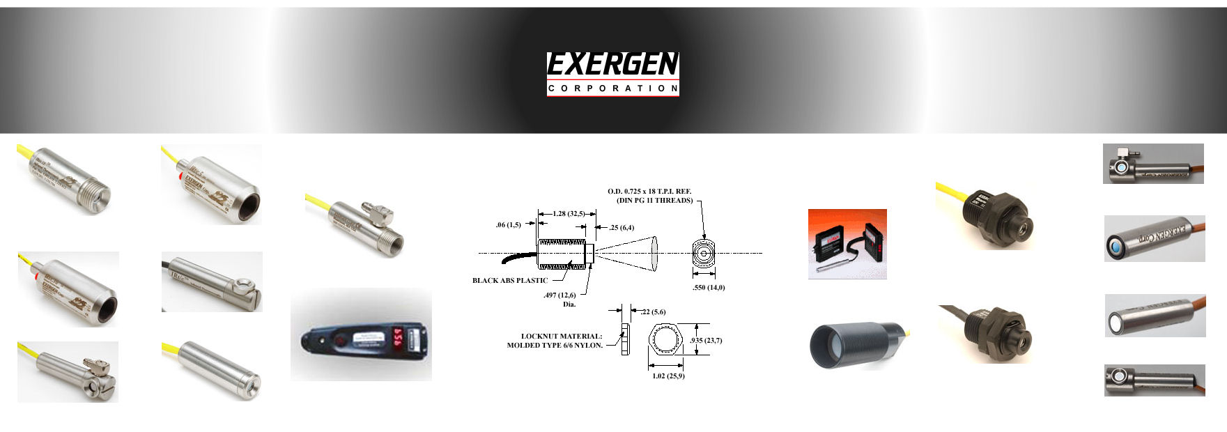 Exergen Infrared Thermocouples